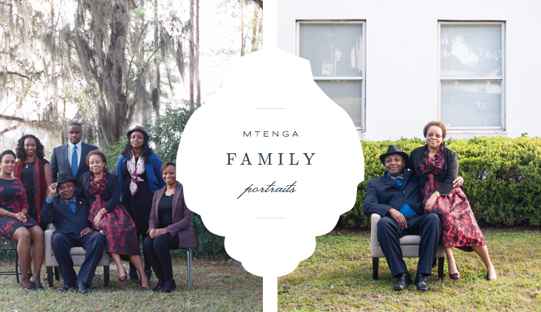 Mtenga Family Portraits | Tallahassee Family Photographer