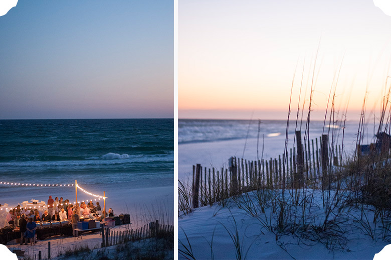 Erin + Jeff | Destin Beach Wedding | Tallahassee Wedding Photographer