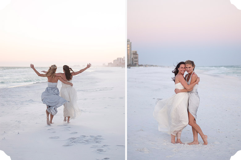 Erin + Jeff   Destin Beach Wedding   Tallahassee Wedding Photographer