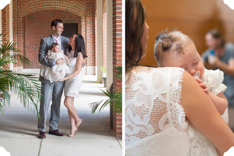 Baby Eleanor Baptism | Tallahassee Family Photographer