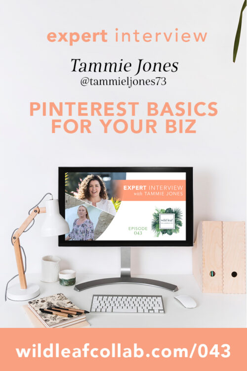 Pinterest for Small Business, with Tammie Jones