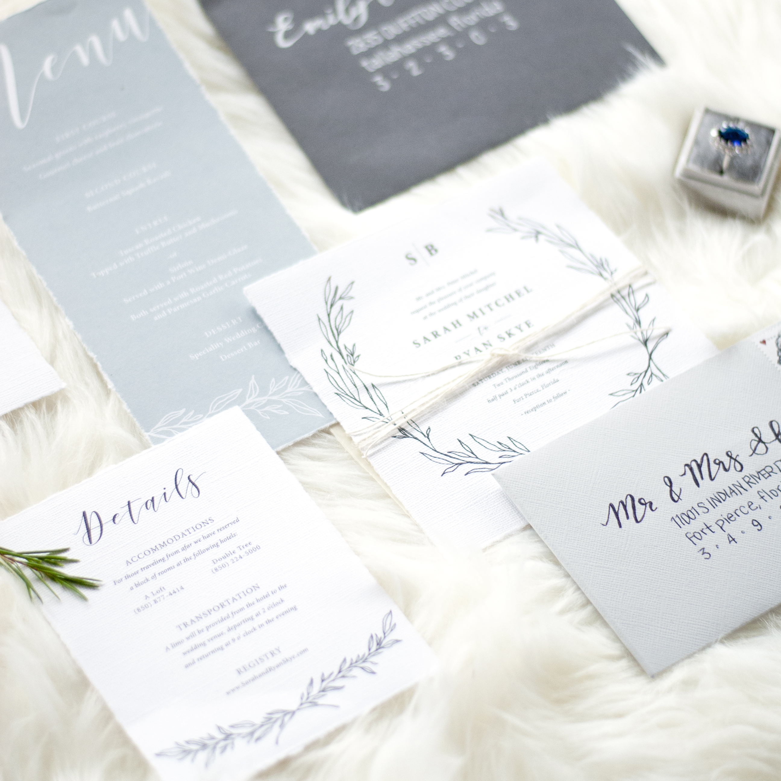 Tallahassee Wedding Invitations
