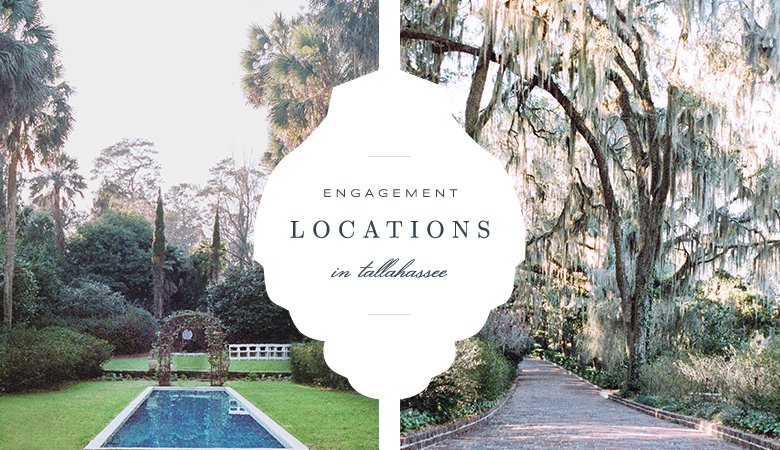 Engagement Photo Locations in Tallahassee | Tallahassee Wedding Photographer