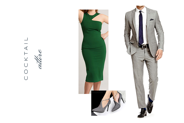 cocktail attire engagement outfit | Ultimate Guide to Engagement Photos | Tallahassee Wedding Photographer