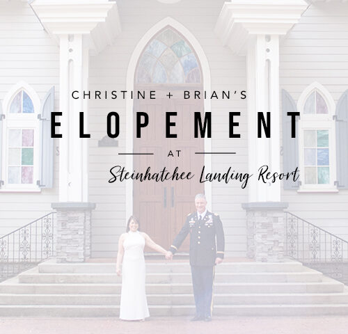 Intimate Steinhatchee Elopement | Florida Elopement Photographer