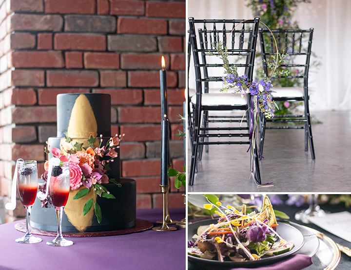 Moody Elegant Wedding Inspiration    The Gathering   Poppie Studios Tallahassee Wedding Photographer