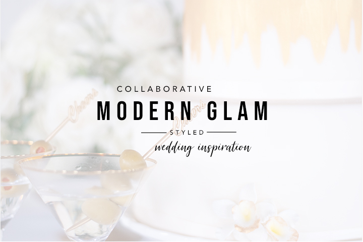 Modern Glam Wedding Inspiration   The Gathering   Poppie Studios Tallahassee Wedding Photographer