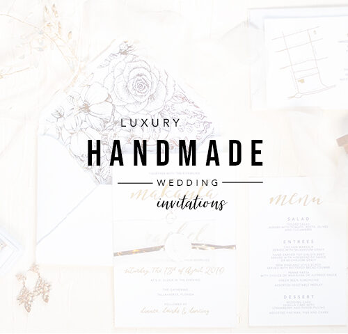 Luxury Handmade Wedding Invitations | The Gathering