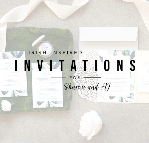 Irish Wedding Invitations | Tallahassee Designer