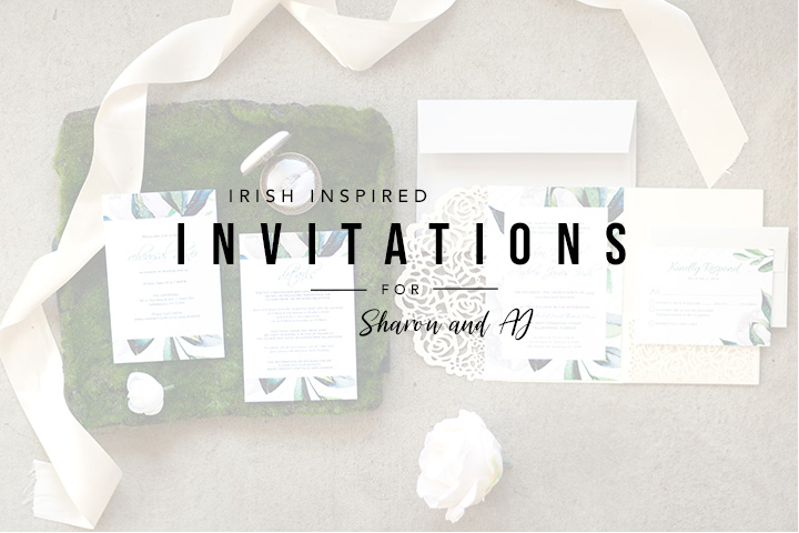 Irish Wedding Invitations | Tallahassee Graphic Designer