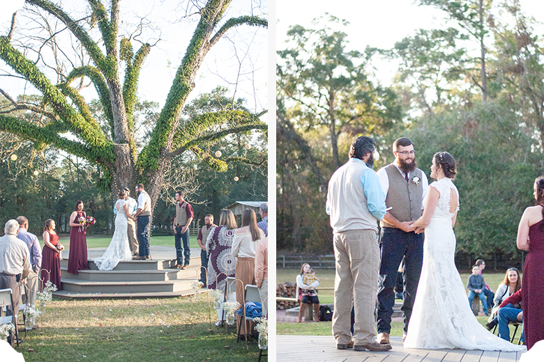 Cheyenne + Trey   Space at Feather Oaks   Tallahassee Wedding Photographer