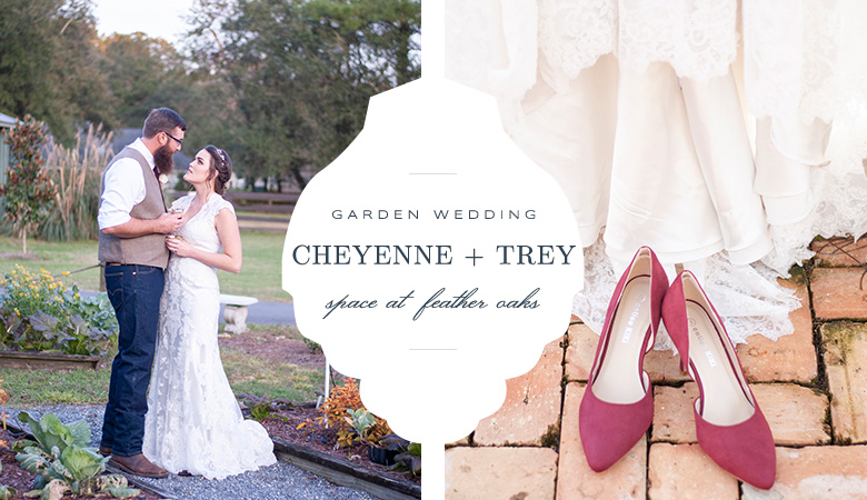 Cheyenne + Trey | Space at Feather Oaks | Tallahassee Wedding Photographer