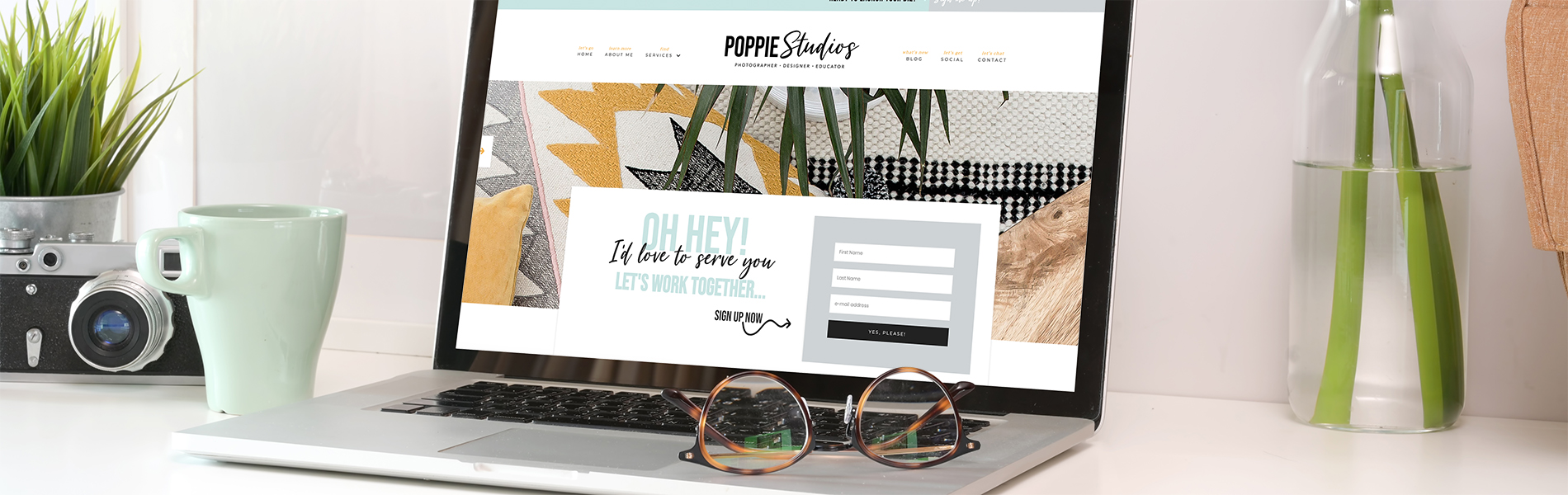 education launch your biz coach poppie studios