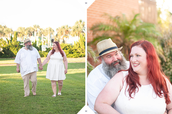 Saint George Island Beach wedding