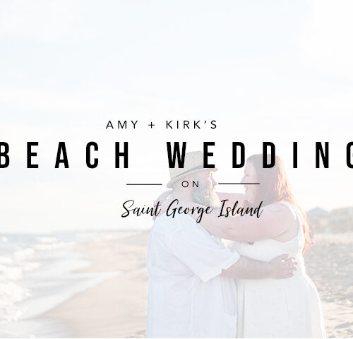 Amy + Kirk | Saint George Island Beach Wedding