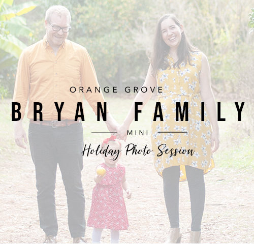 Bryan Family | Holiday Mini Session