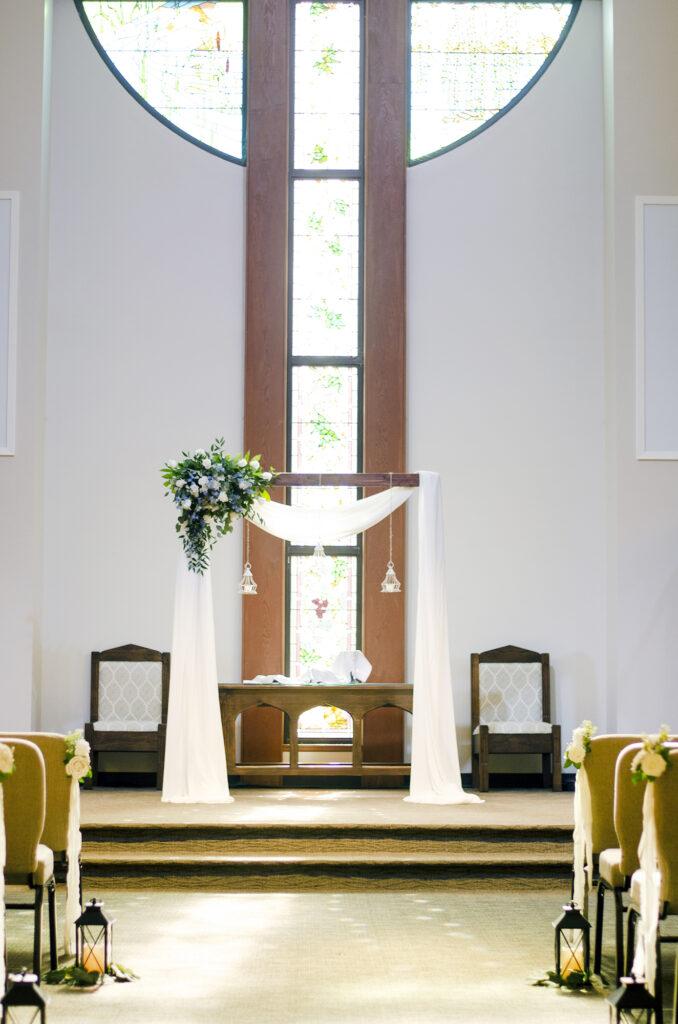 Deer Lake United Methodist Tallahassee Wedding | Poppie Studios