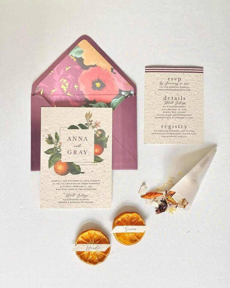 Wedding Stationery and Calligraphy